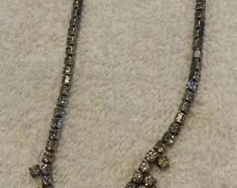 Vintage La-Rel Rhinestone Necklace