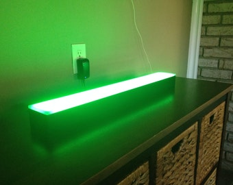 2ft Narrow LED Light Shelf Liquor Shelves Bottle Shelves Bar Display
