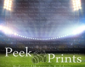 8ft.x8ft. In the Stadium Vinyl Photography Backdrop- Football Baseball Soccer