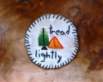 Tread Lightly Camping Patch