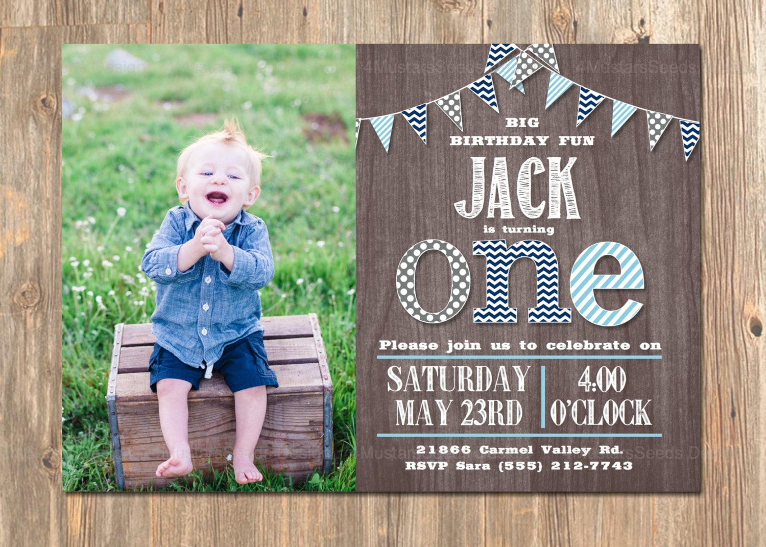 1st Birthday Party Boy Invitations ~ Image Inspiration of Cake and ...