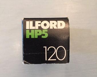 ILFORD HP5 - ASA / ISO 400 120 B&W Negative Film Expired 2/82
