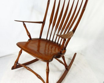 Rocking Chair Contemporary Bircage Rodback Windsor Chair ...