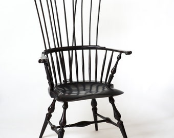 Windsor Chair Comb Back