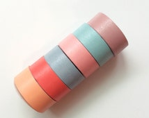 The pick charms washi tape set (6 roll)