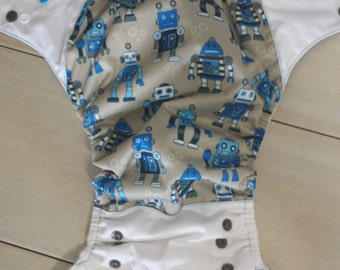 Robot one size pocket diaper