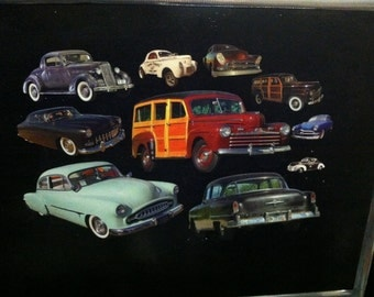 Classic Cars and Customs Car Magnets! 10 piece collection