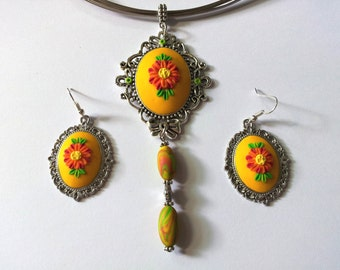 "Jewelry Set ""PC yellow"""