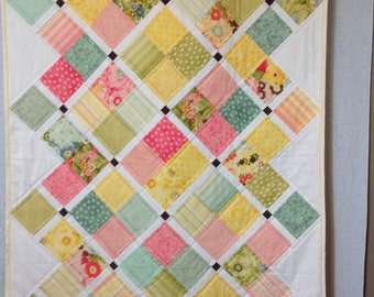Baby girl or lap quilt~
