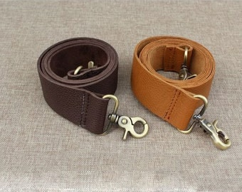 1 PCS 60cm / 23.6 inch Embossed Genuine Leather Straps for Purses