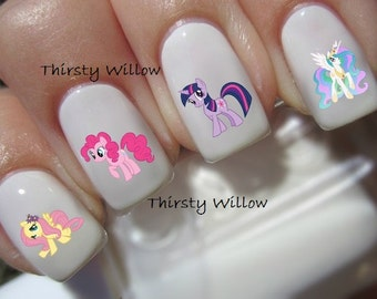 My Little Pony Nail Decals