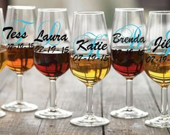 Personalized Party Wine Glasses