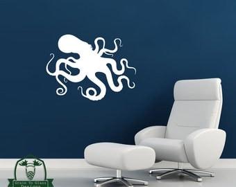 Kraken Octopus Wall Decor Decal