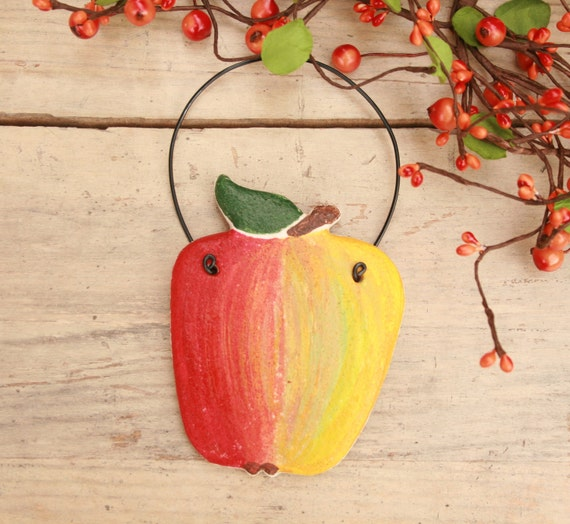 Items similar to large apple decoration apple wall for Apple tree decoration