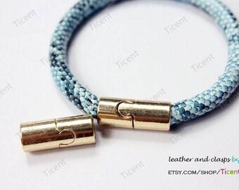 3 sets 7mm Diameter Gold Magnetic Clasp. MT7M-462