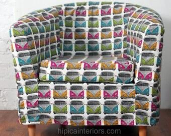 Slip cover for the Ikea Ektorp Tullsta tub chair VW minibus