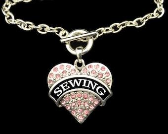 Sewing Toggle Bracelet