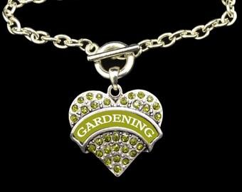 Gardening Toggle Necklace