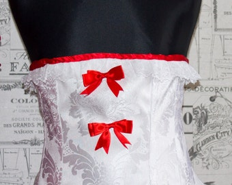 Sissy Underbust Corset - Steel Boned - Colour, Size & Fabric Limited only by YOUR Imagination