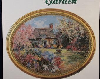 Needlepoint Cross Stitch Embroidery Pattern - Chaplain's Garden