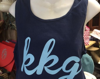 Kappa Kappa Gamma Glitter Shirts