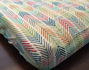 Organic Feather Changing Pad Cover