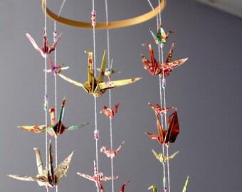 Mobile origami - crane