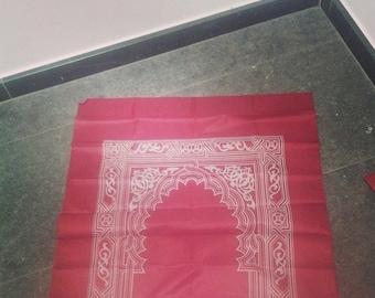 Travel prayer mat | Pocket prayer Mat | Ramadan Gift | Umrah Gift | Muslim Arabic gift