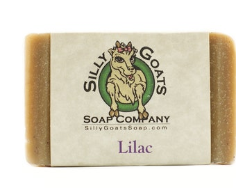 Handmade Goats Milk, 'Lilac' Soap