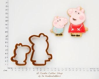 Pig Cookie Cutter Set