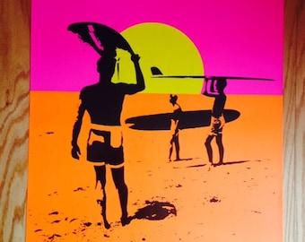 Endless Summer Poster 24 x 36 Bruce Brown