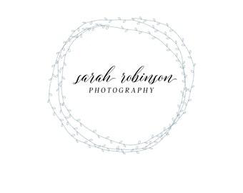 Custom Logo - Premade Logo - Logo - Business Logo - Branding Logo - Photography Logo - Photography Logo , Calligraphy logo