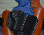"""Smith and Wesson Model 60 3"""" Custom Lifetime Warranty IWB Hybrid Holster for Concealed Carry"""