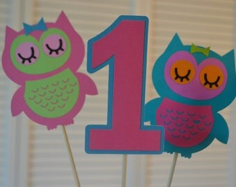 Owl Party Centerpiece/Decor