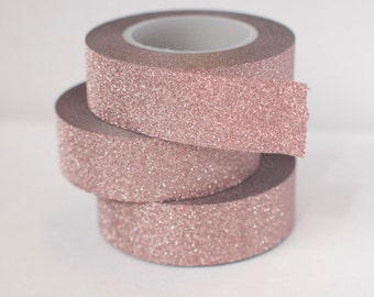 Mauve Glitter Tape - s+h included in the price