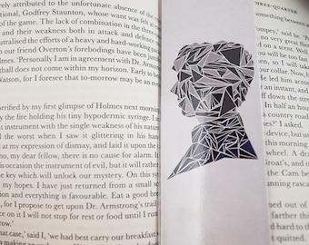 Sherlock Laminated Bookmark