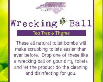 Toilet Bombs - Homemade Cleaning, Toilet Fizzies