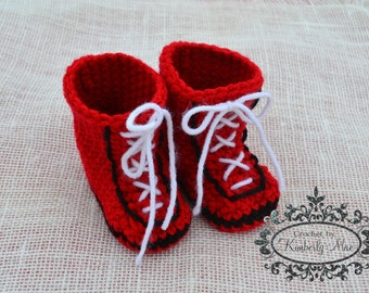 Preemie to 3 Months - Baby Boxer Shoes