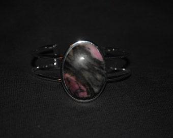 Pink Rhodonite Bracelet