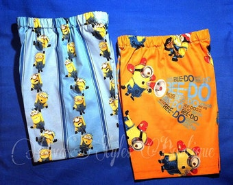 Minion Shorts, Minion Clothing, Minion Pants