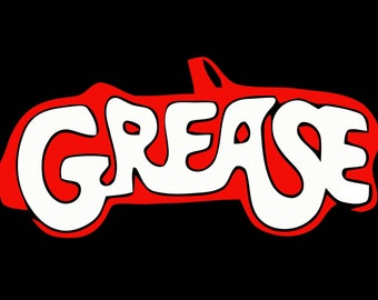 1980's Movie Grease Custom Tee Shirt