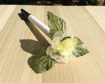 Wedding Guest Book Sharpie Pen, Decorative Pen Guest Book, Rustic Pen Guest Book