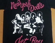 NEW YORK DOLLS  band T Shirt Punk Glam Rock n Roll Tee Screen Print