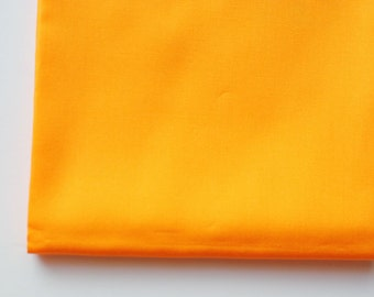 orange solid fabric   Mandarin   Pure Elements Solids by Art Gallery Fabrics, soft fabric by the yard, fat quarters