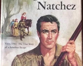 Vintage Book Flight from Natchez 1955 by Slaughter, Frank G.