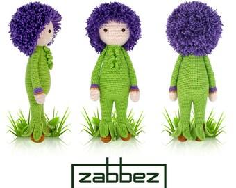 "Crochet pattern amigurumi doll ""Giant Onion Otto"" PDF"