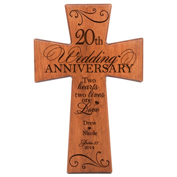 20th wedding anniversary t gift for husband gift ideas for wife