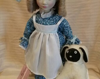 Mary had a little lamb doll by Suzanne Gibson