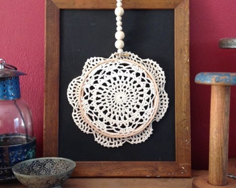 DIY Doily Mandala Kit / Craft Kit / Gift for Adults / Gift for Teens / Gift for Kids