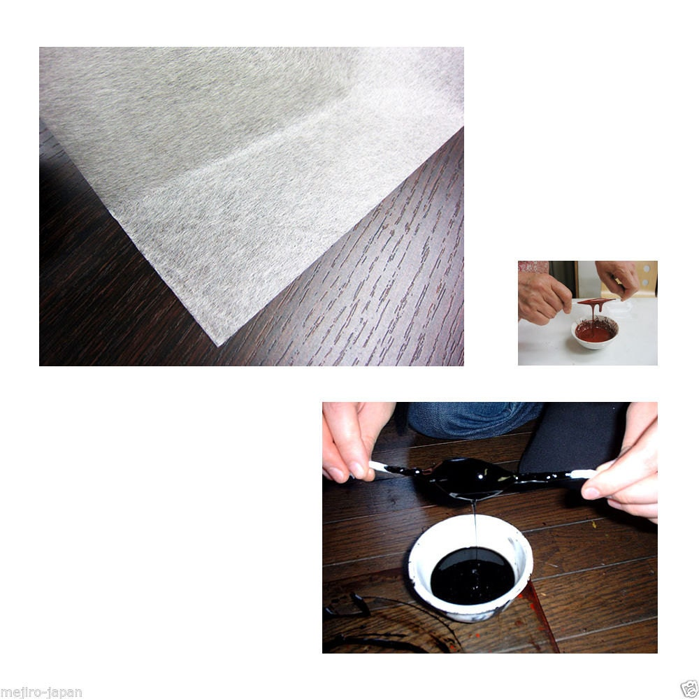 yoshino japanese filter paper for uruchi lacquer from japan 100 sheet from wwwmejirojapancom on. Black Bedroom Furniture Sets. Home Design Ideas